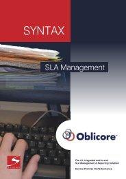 Oblicore Guarantee - Syntax