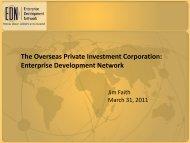 The Overseas Private Investment Corporation: Enterprise ... - MBITA