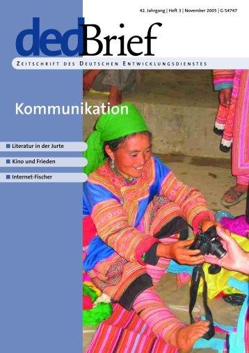 Kommunikation - Deutsche Gesellschaft für Internationale ...
