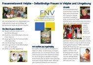 Frauennetzwerk Flyer - Fullservice Werbeagentur Text-Konzept ...