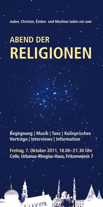 abend der religionen