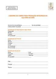Caderno de Campo Aipo - Embrapa