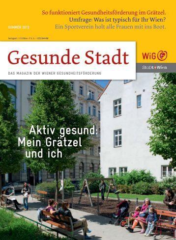Kunden PDF von Repromedia Wien - Wiener Gesundheitsförderung