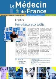 la gazette du 18 septembre - CSMF