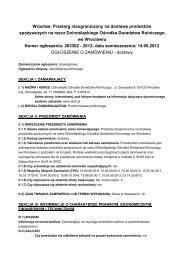 Pobierz ogłoszenie (PDF 191 kB) - Dolnośląski Ośrodek Doradztwa ...