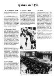 Ausstellung zum spanischen Bürgerkrieg in Nürnberg