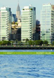 Read the Executive Summary - Hudson River Park