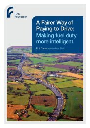A Fairer Way of Paying to Drive: Making fuel duty ... - RAC Foundation