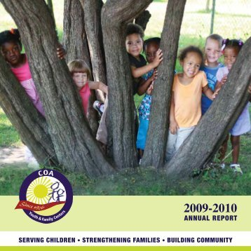 ANNUAL REPORT - COA Youth & Family Centers