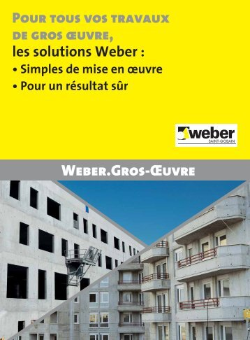 Téléchargez la version PDF - Weber