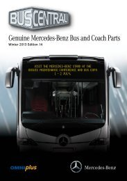 Genuine Mercedes-Benz Bus And Coach Parts
