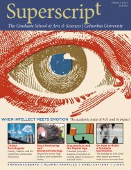 PDF for Printing - Graduate School of Arts and Sciences - Columbia ...