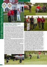 September 2010 - Golf Resort Berlin Pankow