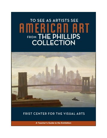 A Teacher's Guide to the Exhibition - Frist Center for the Visual Arts
