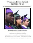 Waukegan Public Schools District 60 - Page 2