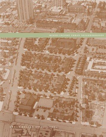 mixed-income urban neighborhoods - Urban Design Associates