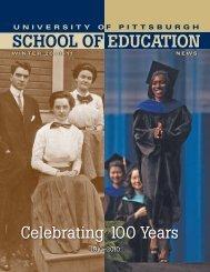Winter 2010-2011 - School of Education - University of Pittsburgh