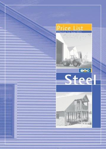 Price List - BGC