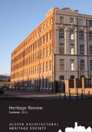 Heritage Review - Ulster Architectural Heritage Society