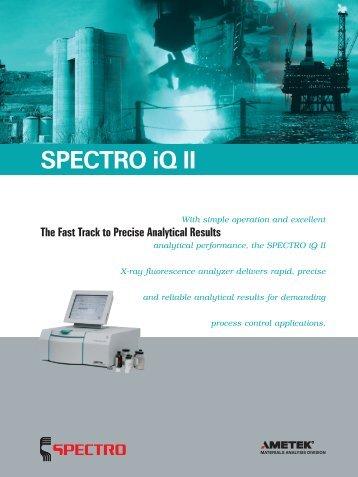 SPECTRO iQ II - Gomensoro