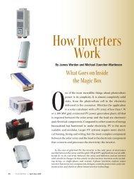 How Solar Inverters Work for Solar Panels