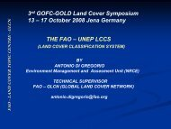 Introduction of the LCCS 3 concept - GOFC-GOLD LC-IT Office