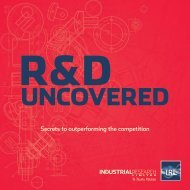 R&D Uncovered - Industrial Research Limited