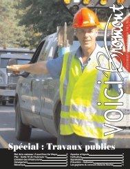 Spécial : Travaux publics - Ville de Bromont