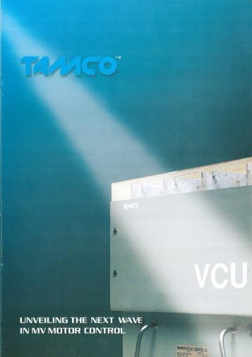 MV Motor Controlgear (VCU) - Tamco Switchgear