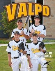2010 Baseball Media Guide.pmd - Valparaiso University