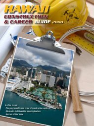 Hawaii Construction Career Day Guide