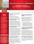FAQ sur la condensation - Farley Windows - Page 2