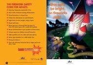 A5 Kids Firework Leaflet - UK Fireworks Safety Website