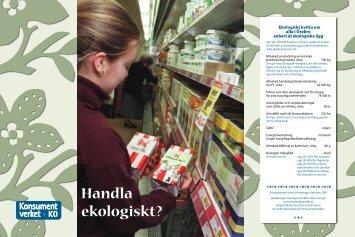 Handla ekologiskt – Om ekologiska kvitton - Konsumentverket