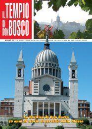 La Basilica di Don Bosco 50 anni di storia al ... - Colle Don Bosco