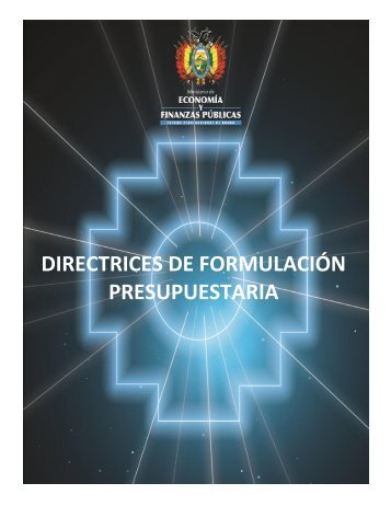 Directrices - Ministerio de Economía y Finanzas Públicas
