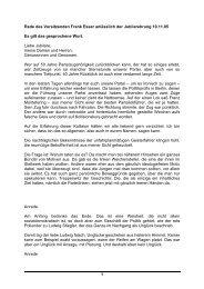 Rede Frank Esser Jubilarehrung 10.11.2005