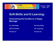 Soft-Skills and E-Learning: - Pttmedia.com - pttmedia.com