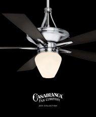 2011 COLLECTION - Casablanca Fan