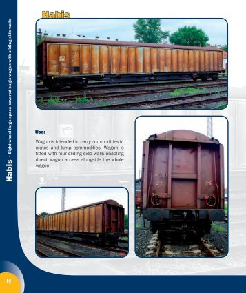 Freight rolling stock catalogue 2010