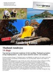 Magiske Thailand Smilets Land - Team Benns