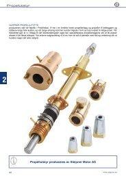 Propellutstyr Propellutstyr produseres av Sleipner Motor ... - Seatronic