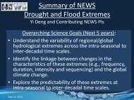 Wang_Extremes working group overview - NEWS (The NASA ...