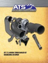 ats 7.3l aurora turbocharger kit engineering document - ATS Diesel ...