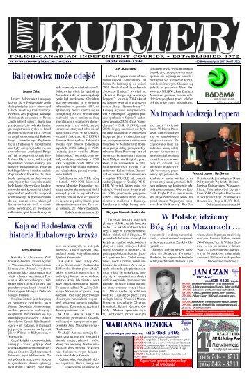 (April) 2007r. No 07 (925) - Nowy Kurier