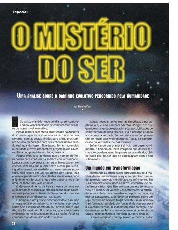O mistério do ser - Revista Cristã de Espiritismo