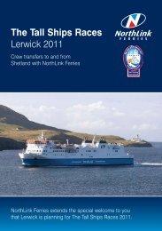 The Tall Ships Races Lerwick 2011 - Sail Training International