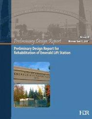 Rehabilitation of Emerald Lift Station PDR (PDF) - City of Modesto