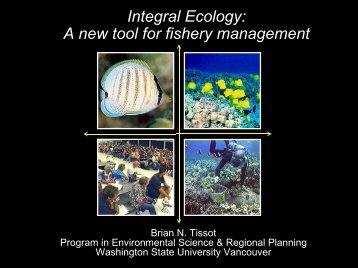 Integral Ecology - Research Vancouver Wsu - Washington State ...