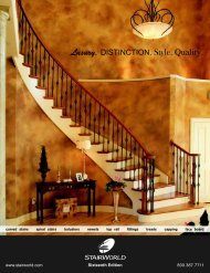 Download Catalog - StairWorld Inc.